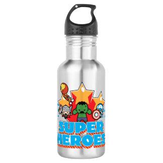 Kawaii Avenger Super Heroes Graphic 532 Ml Water Bottle