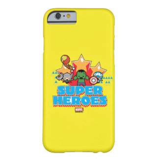 Kawaii Avenger Super Heroes Graphic Barely There iPhone 6 Case