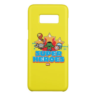 Kawaii Avenger Super Heroes Graphic Case-Mate Samsung Galaxy S8 Case
