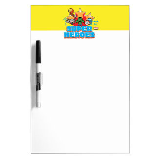 Kawaii Avenger Super Heroes Graphic Dry Erase Board