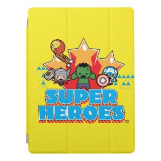 Kawaii Avenger Super Heroes Graphic iPad Pro Cover