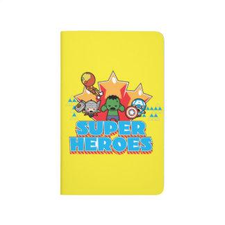 Kawaii Avenger Super Heroes Graphic Journal