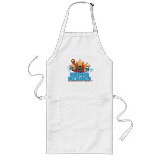 Kawaii Avenger Super Heroes Graphic Long Apron