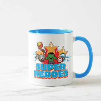 Kawaii Avenger Super Heroes Graphic Mug