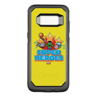 Kawaii Avenger Super Heroes Graphic OtterBox Commuter Samsung Galaxy S8 Case