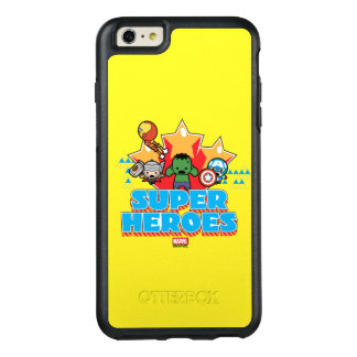 Kawaii Avenger Super Heroes Graphic OtterBox iPhone 6/6s Plus Case