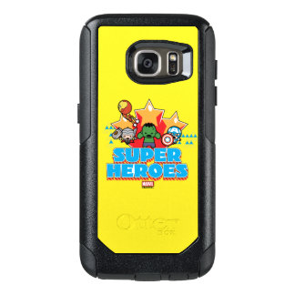 Kawaii Avenger Super Heroes Graphic OtterBox Samsung Galaxy S7 Case