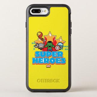 Kawaii Avenger Super Heroes Graphic OtterBox Symmetry iPhone 8 Plus/7 Plus Case