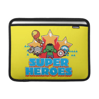 Kawaii Avenger Super Heroes Graphic Sleeve For MacBook Air