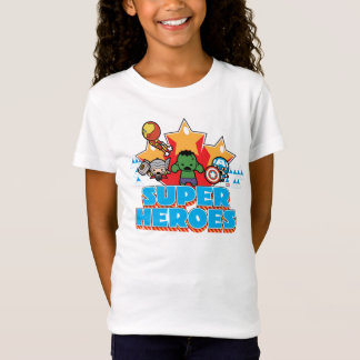 Kawaii Avenger Super Heroes Graphic T-Shirt