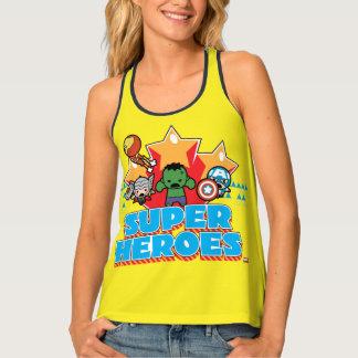 Kawaii Avenger Super Heroes Graphic Tank Top