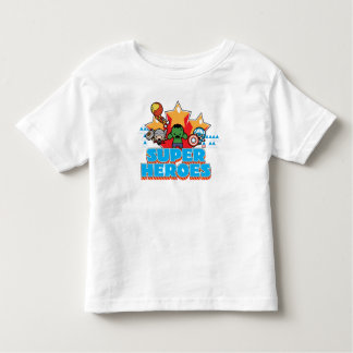 Kawaii Avenger Super Heroes Graphic Toddler T-shirt