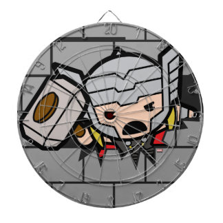 Kawaii Avengers Brick Wall Pattern Dartboard