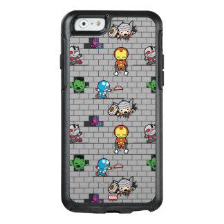 Kawaii Avengers Brick Wall Pattern OtterBox iPhone 6/6s Case