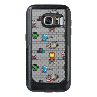 Kawaii Avengers Brick Wall Pattern OtterBox Samsung Galaxy S7 Case