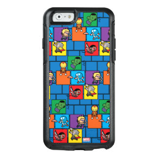 Kawaii Avengers In Colorful Blocks OtterBox iPhone 6/6s Case
