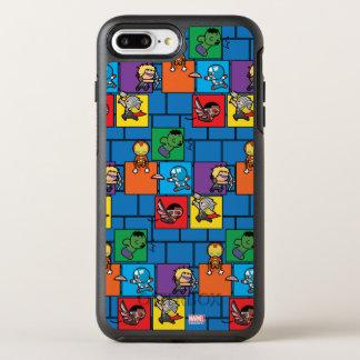 Kawaii Avengers In Colorful Blocks OtterBox Symmetry iPhone 8 Plus/7 Plus Case