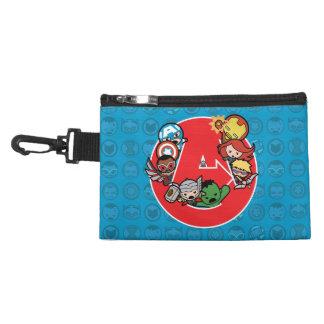 Kawaii Avengers Inside A-Logo Accessory Bag