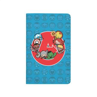 Kawaii Avengers Inside A-Logo Journal