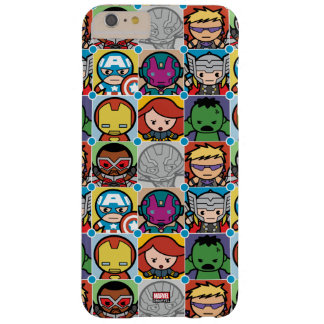 Kawaii Avengers Vs Ultron Pattern Barely There iPhone 6 Plus Case