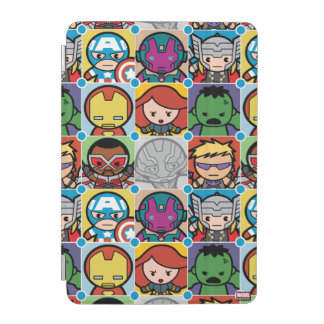 Kawaii Avengers Vs Ultron Pattern iPad Mini Cover