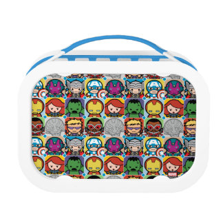 Kawaii Avengers Vs Ultron Pattern Lunch Box