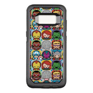 Kawaii Avengers Vs Ultron Pattern OtterBox Commuter Samsung Galaxy S8 Case