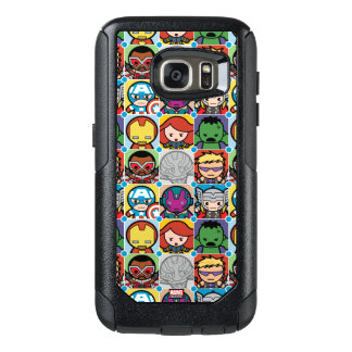 Kawaii Avengers Vs Ultron Pattern OtterBox Samsung Galaxy S7 Case
