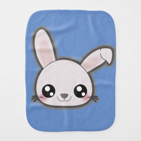 Kawaii baby bunny burpcloth burp cloths
