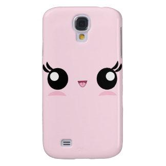 Kawaii Baby Face Samsung Galaxy S4 Cover