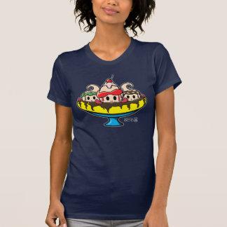 Kawaii Banana Split Ice Cream Sundae T-Shirt