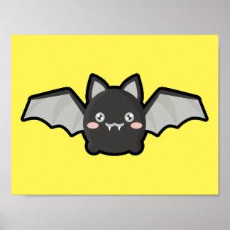 Kawaii Bat Poster