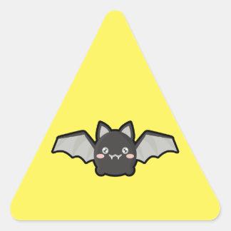Kawaii Bat Triangle Sticker
