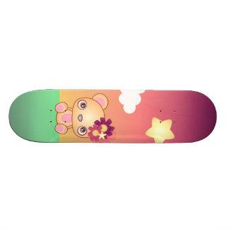 Kawaii Bear Skate Deck