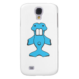 Kawaii Beaver Fish Creature Galaxy S4 Case
