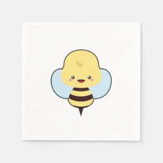 Kawaii Bee Paper Napkins