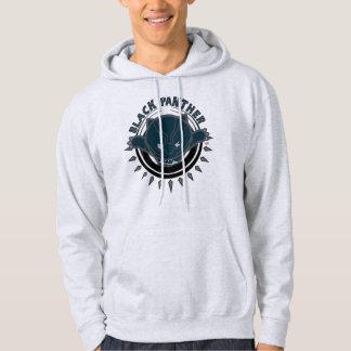 Kawaii Black Panther Logo Hoodie