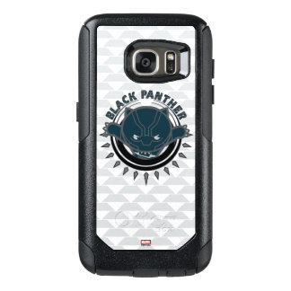 Kawaii Black Panther Logo OtterBox Samsung Galaxy S7 Case