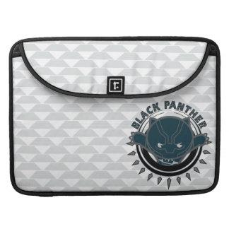 Kawaii Black Panther Logo Sleeve For MacBook Pro