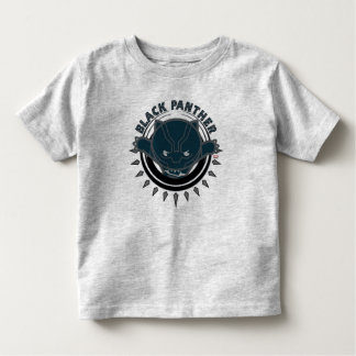 Kawaii Black Panther Logo Toddler T-shirt