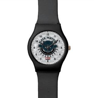 Kawaii Black Panther Logo Watch