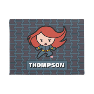 Kawaii Black Widow Dash Doormat