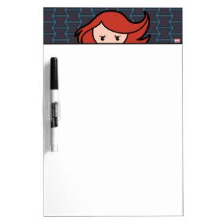 Kawaii Black Widow Dash Dry Erase Board