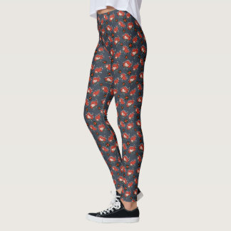 Kawaii Black Widow Dash Leggings