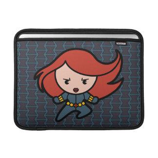 Kawaii Black Widow Dash MacBook Sleeve