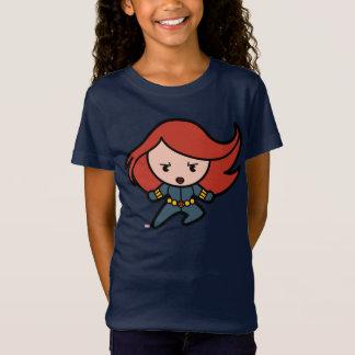 Kawaii Black Widow Dash T-Shirt