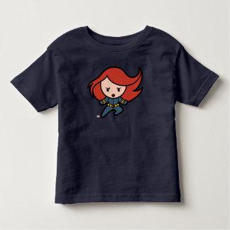 Kawaii Black Widow Dash Toddler T-shirt