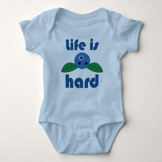 Kawaii Blueberry Life is Hard infant creeper