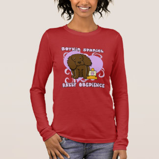 Kawaii Boykin Spaniel Rally Obedience Long Sleeve T-Shirt