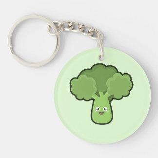Kawaii Broccoli Keychain